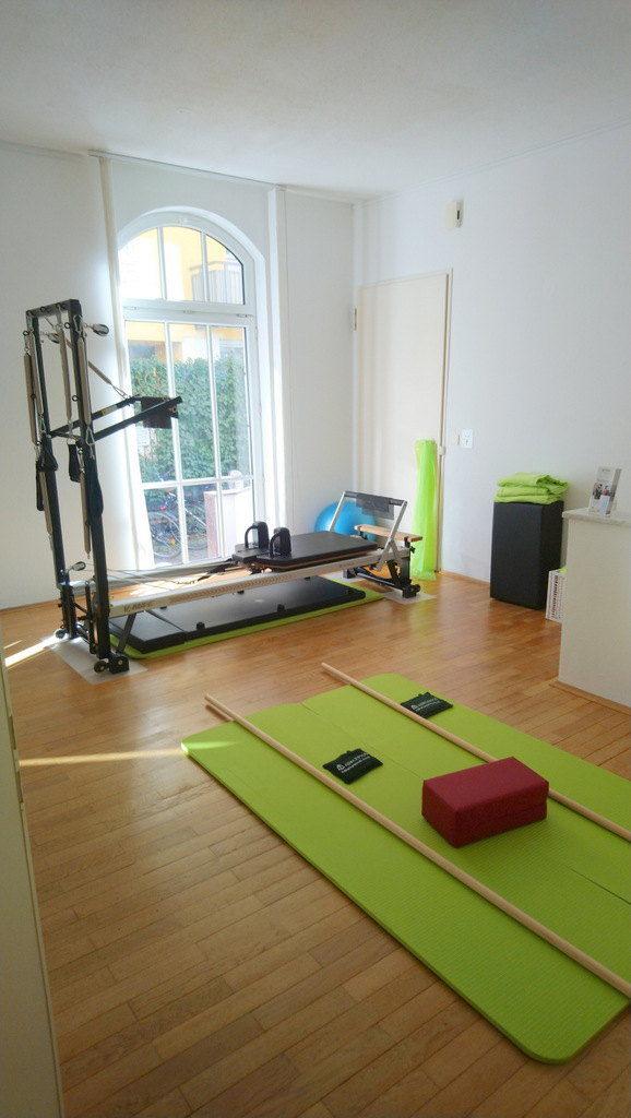 Blick in den Pilates und Physioraum